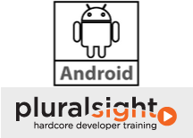 Jim's Android courses on Pluralsight
