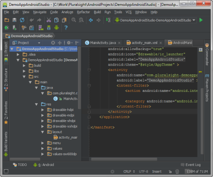 Android Studio Darcula Theme