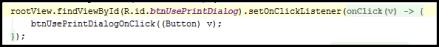Lambda Code Folded
